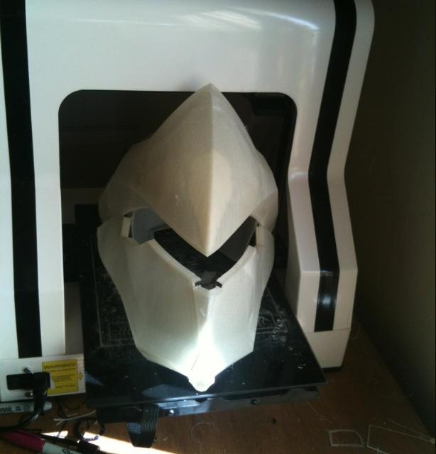 Overwatch Genji Helmet 3DP