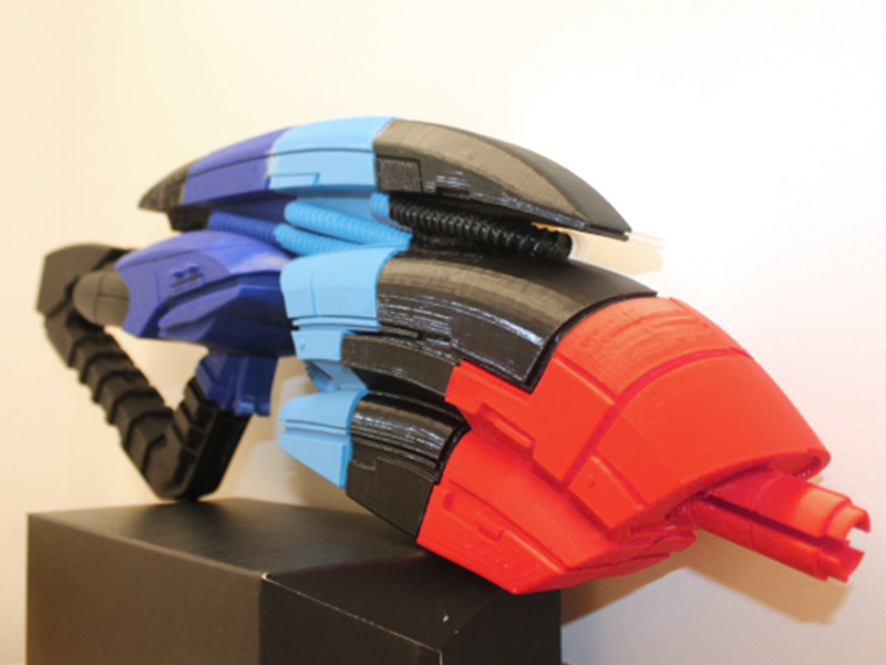 Mass Effect 3D models - Geth Rifle