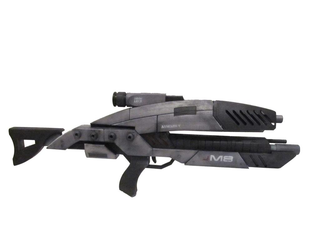 M8 Avenger Rifle - Mass Effect 3D Models