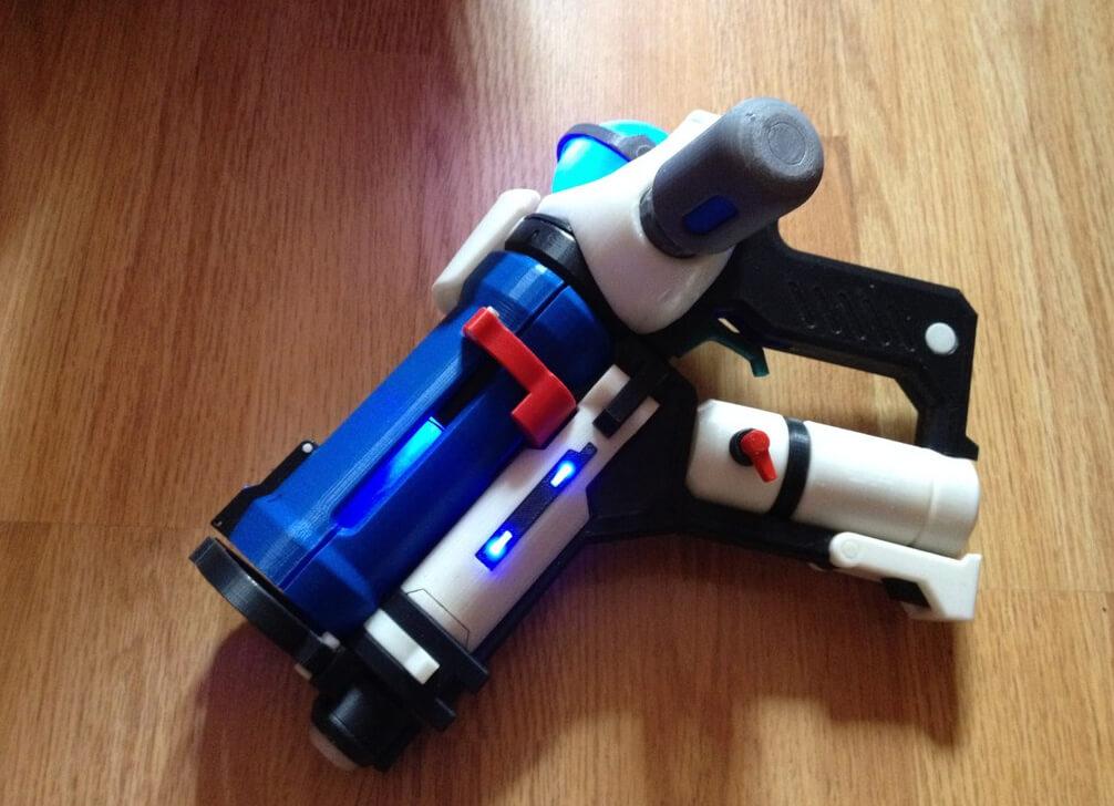 Mei Bluster 3D printed model