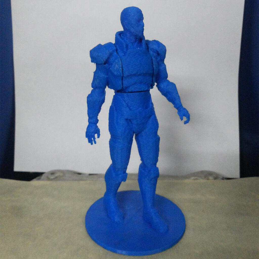 Mass Effect 3D printed N7 Commander Shepard
