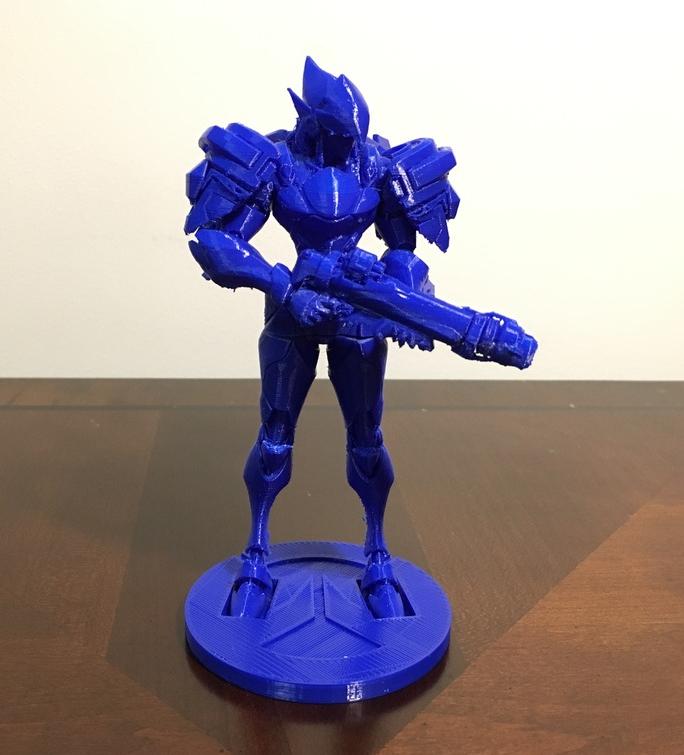 Overwatch Phara 3D printed figurine