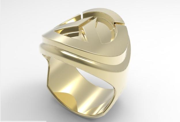 Overwatch Logo Ring 3DP