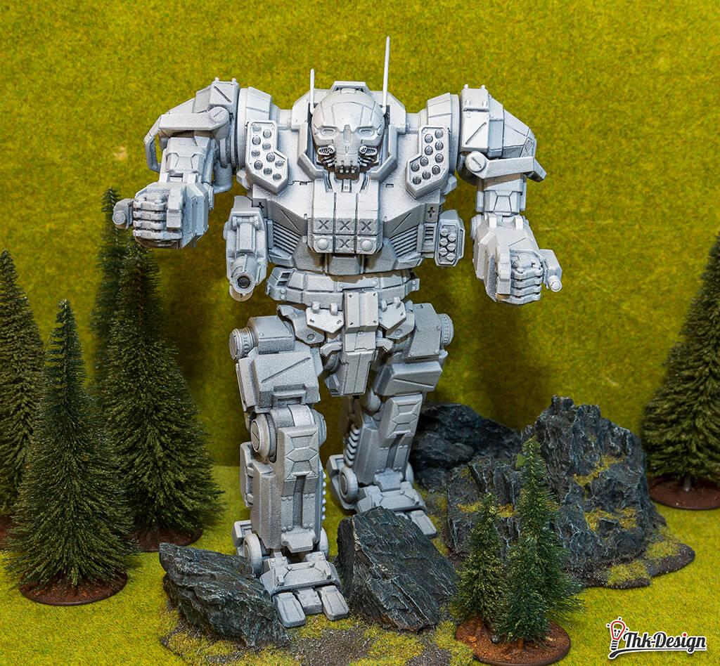 3D Printed MWO Atlas