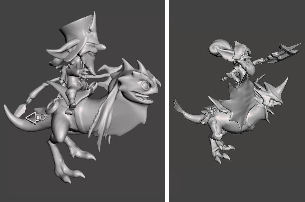 Kled 3D Model