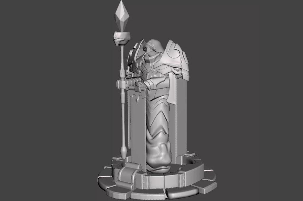 League of Legends Tower 3D Model