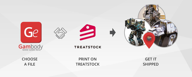 Gambody Partners with Treatstock