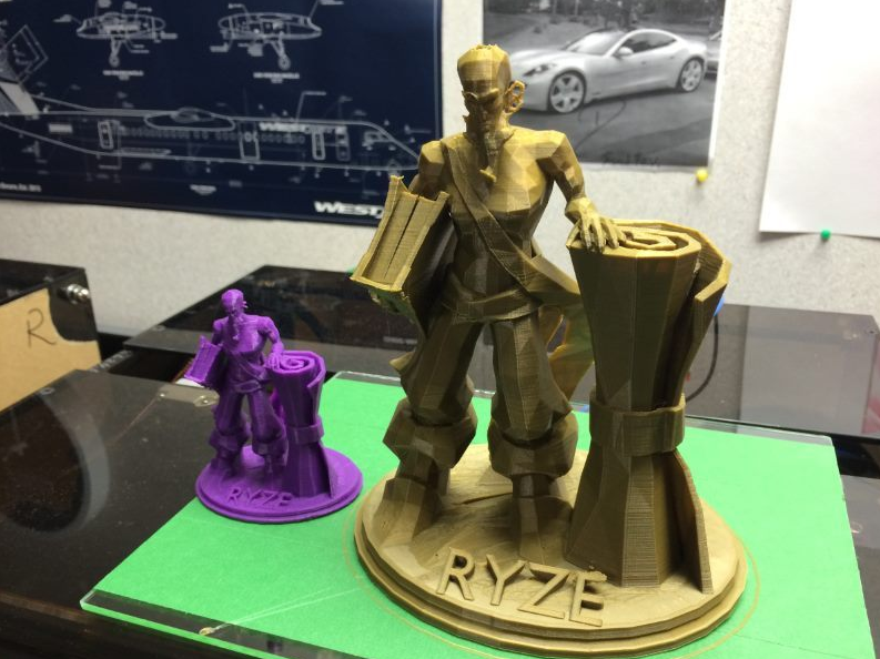 Ryze LoL 3D models