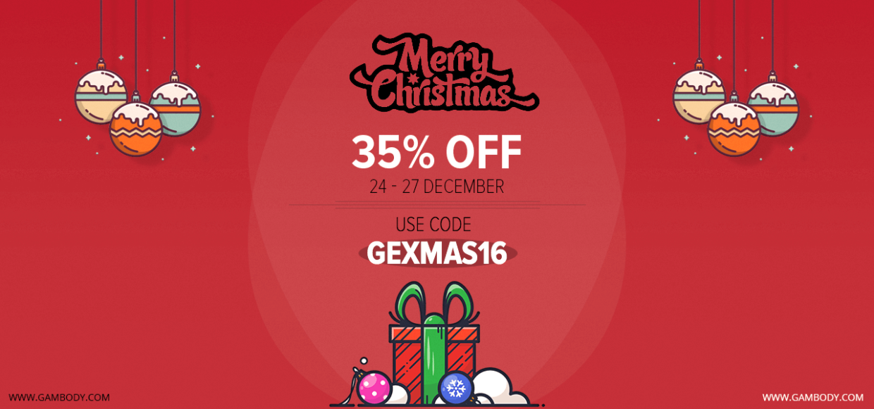 Christmas and Boxing Day Sales at Gambody