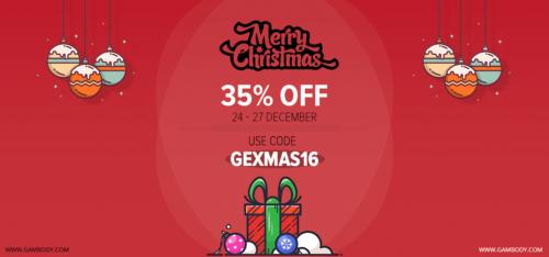 Christmas and Boxing Day Sales at Gambody