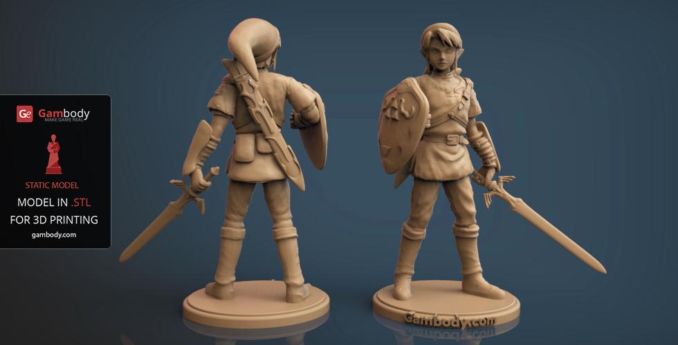 10 Legend Of Zelda 3d Models Gambody 3d Printing Blog