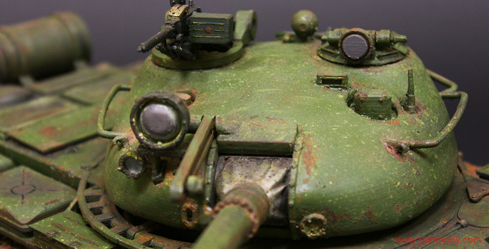 T-62 3d model from World of Tanks