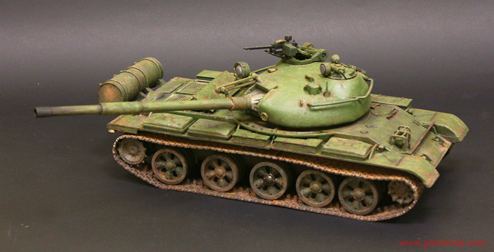 T-62 3D printed and painted