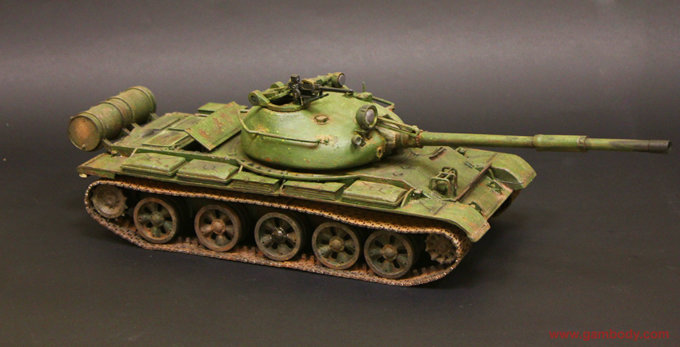 How to Paint a Killer T-62 Tank 3D Model