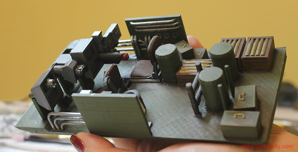 T-62 interior layout