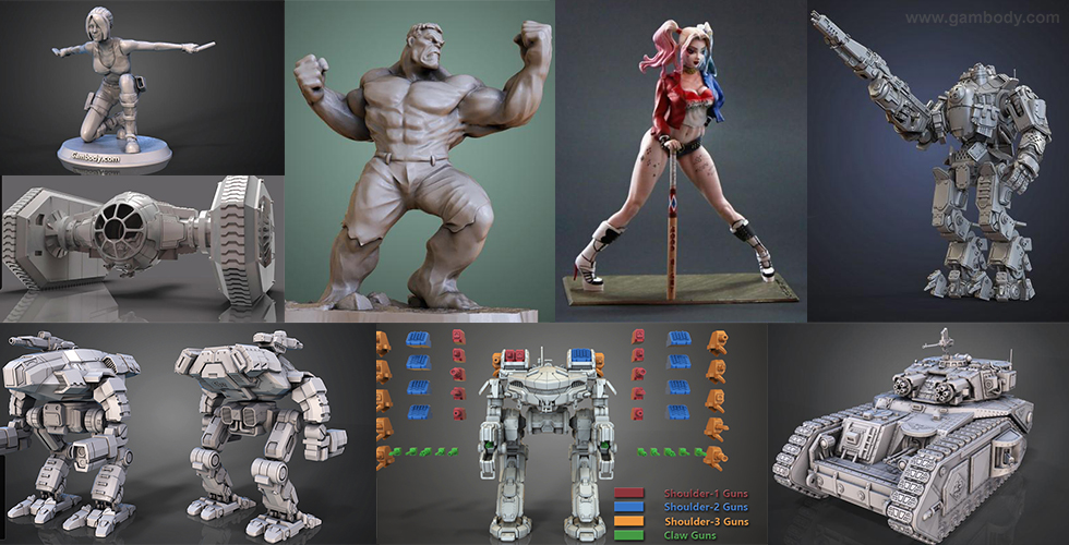 February Roundup: 3D Models of the Month