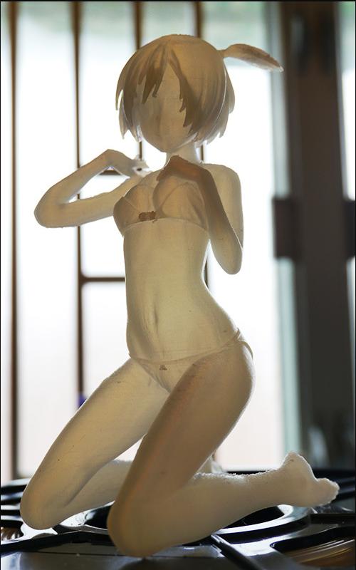 3D Printed Anime Doll
