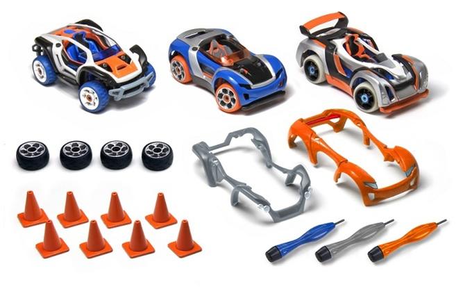 Modarri 3D printed toy cars