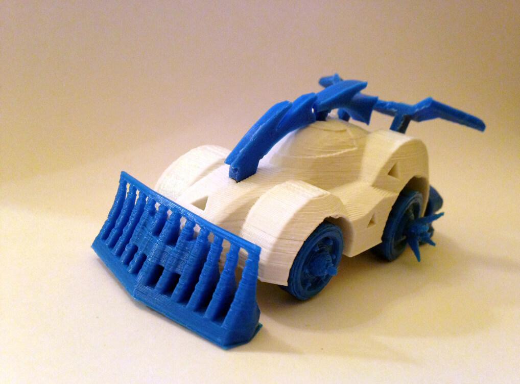 Racerscar 3D Printed toy car