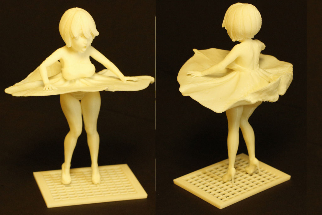 Anime Miniature for 3D printing