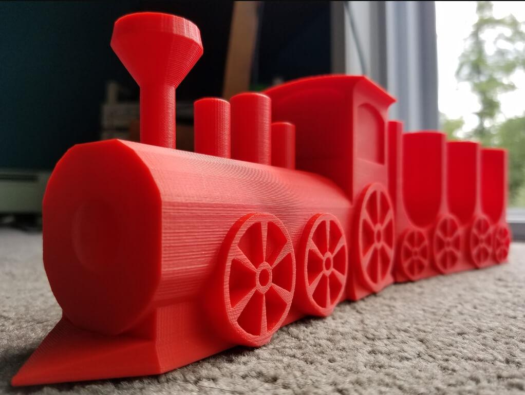 Taco Train 3D Printed Toy Car