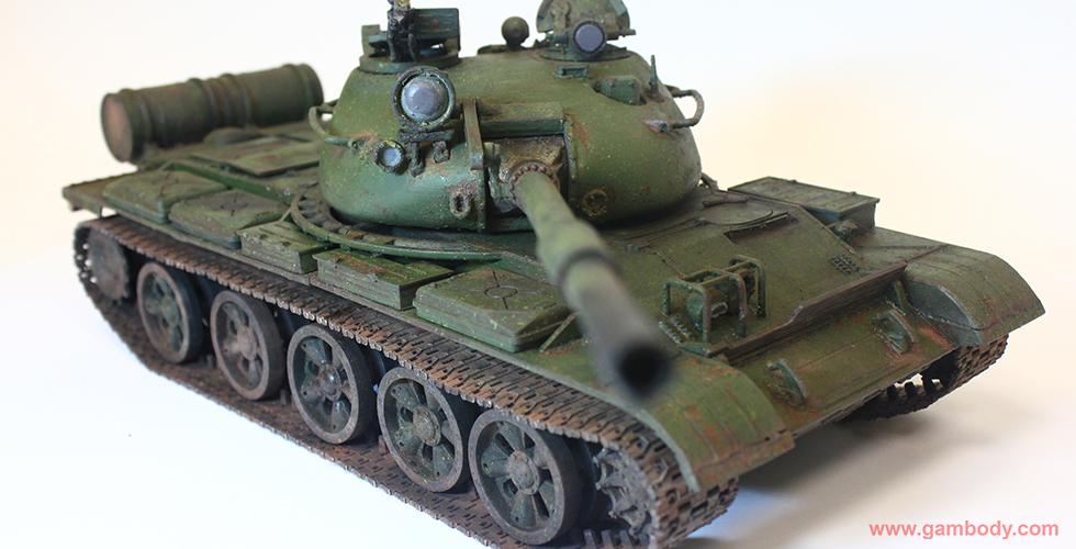 T-62 tank 3D print