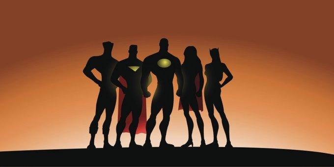 10 3D Printed Superheroes