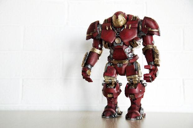 Hulkbuster 3D Printed Superheroes