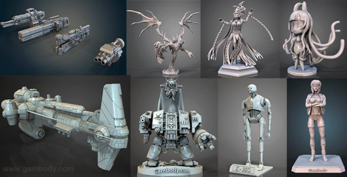 March Roundup: 3D Models of the Month