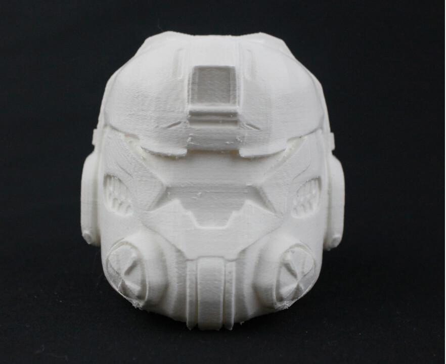 Titanfall pilot helmet 3D printed