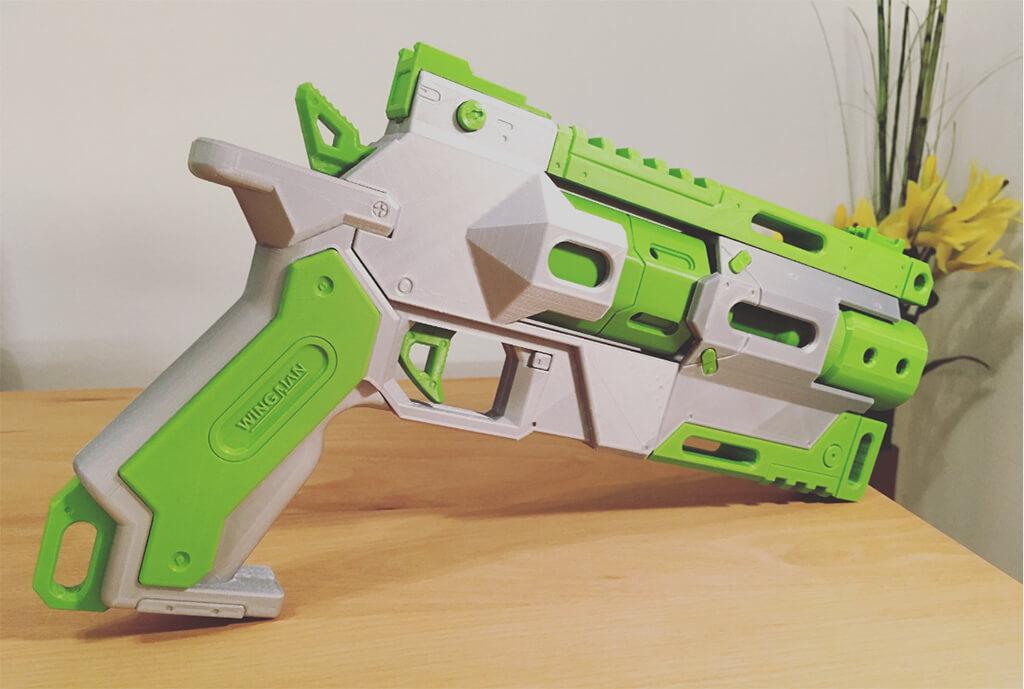 3D printed Titanfall wingman pistol