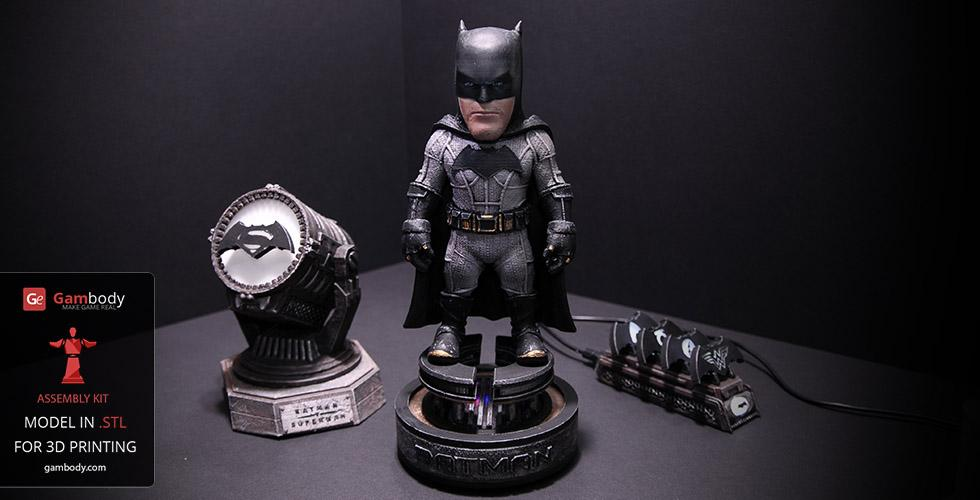 Batman Kit for 3D Printing