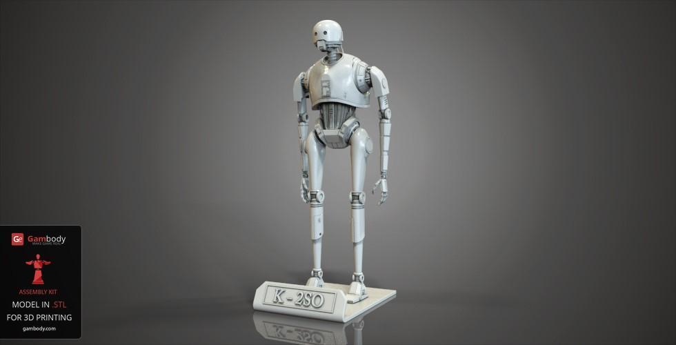 Star Wars K-2SO 3D printing figurine