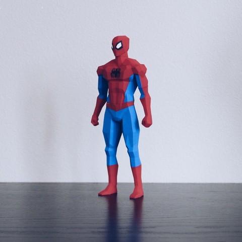 Spiderman 3D printed superheroes