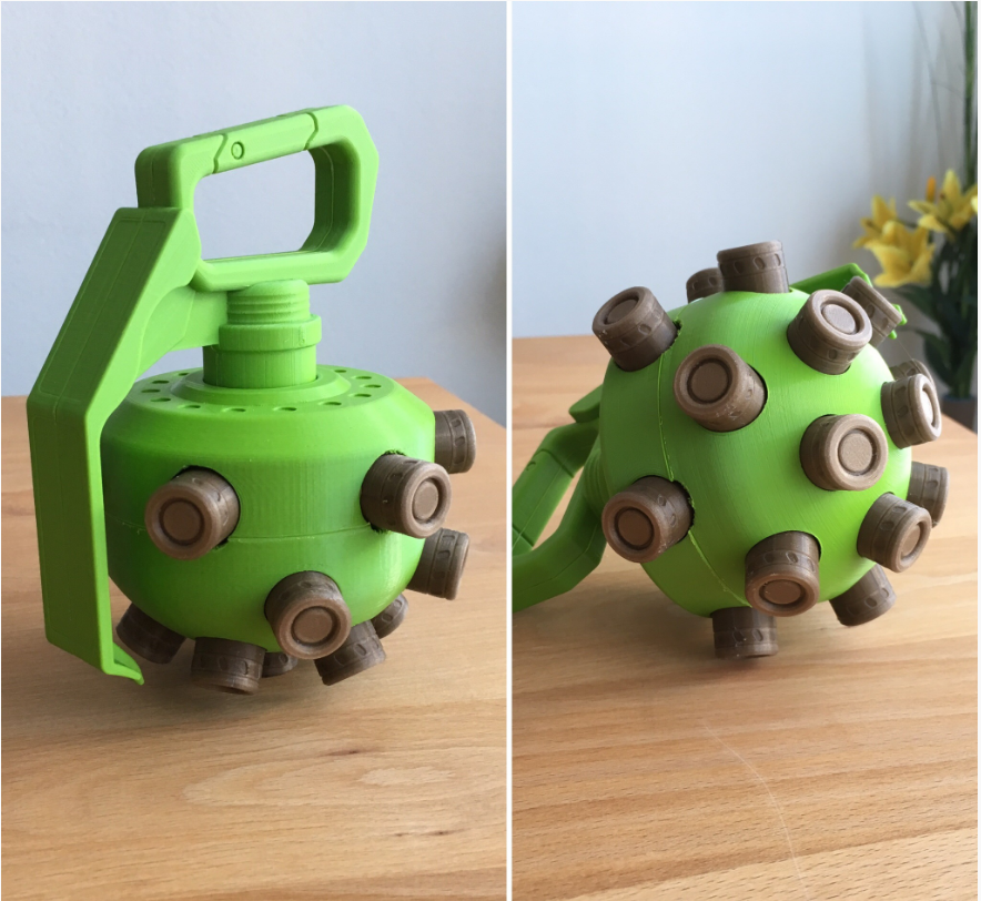 3DP Titanfall arc grenade