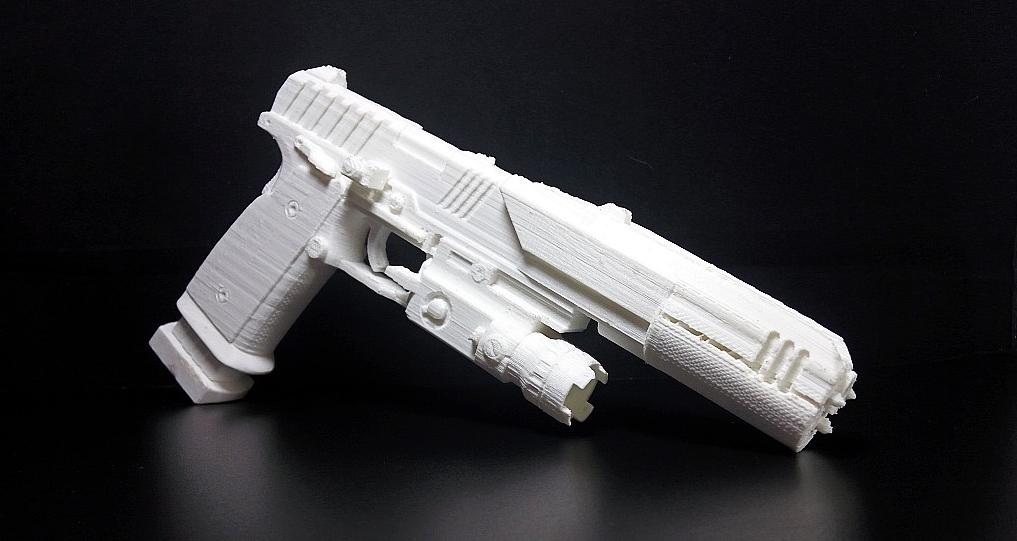 Titanfall 3d printed pistol mk5