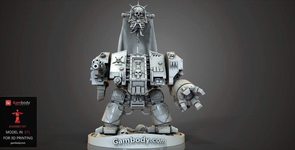 March Roundup: Dreadnought 3D Printing figurine from Warhammer 40k