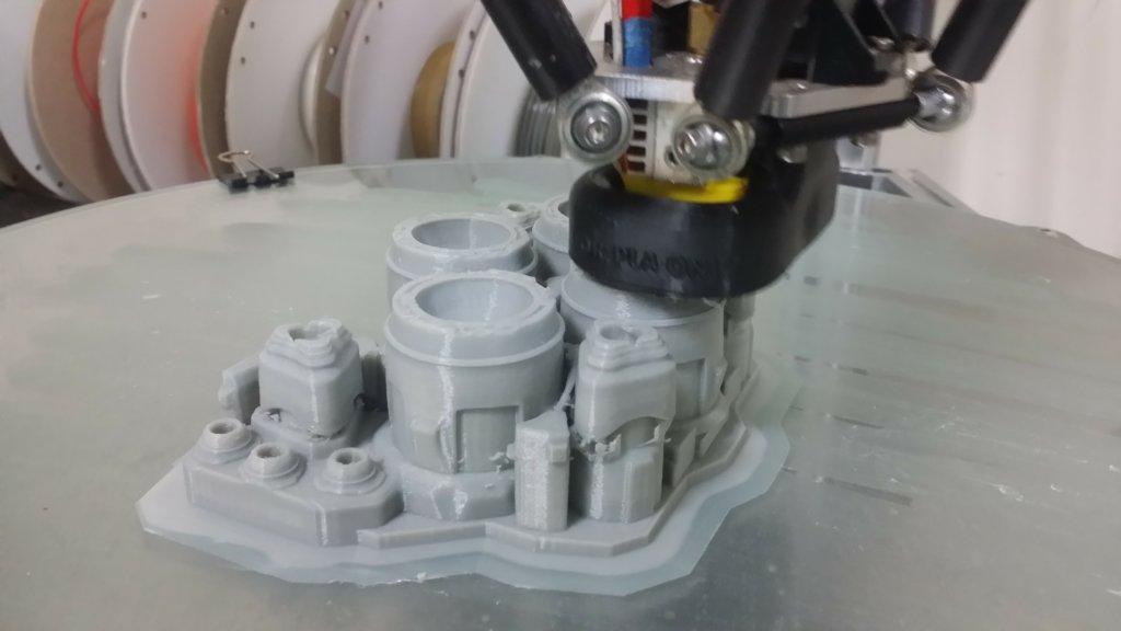 Starcraft Hyperion Battlecruiser 3d model