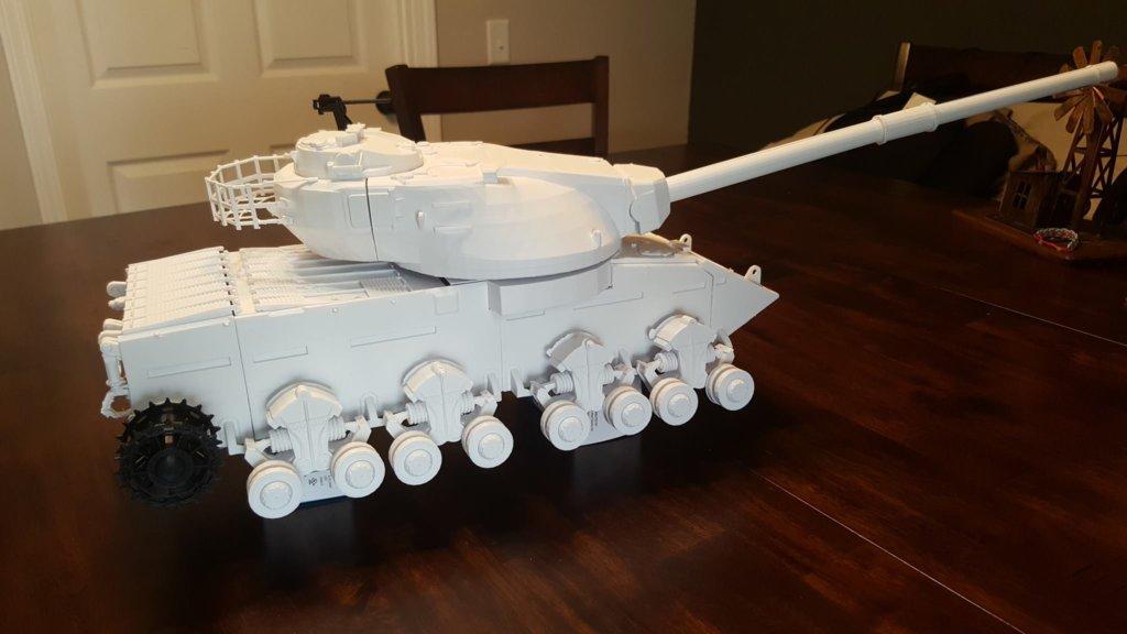 3d printed conqueror tank