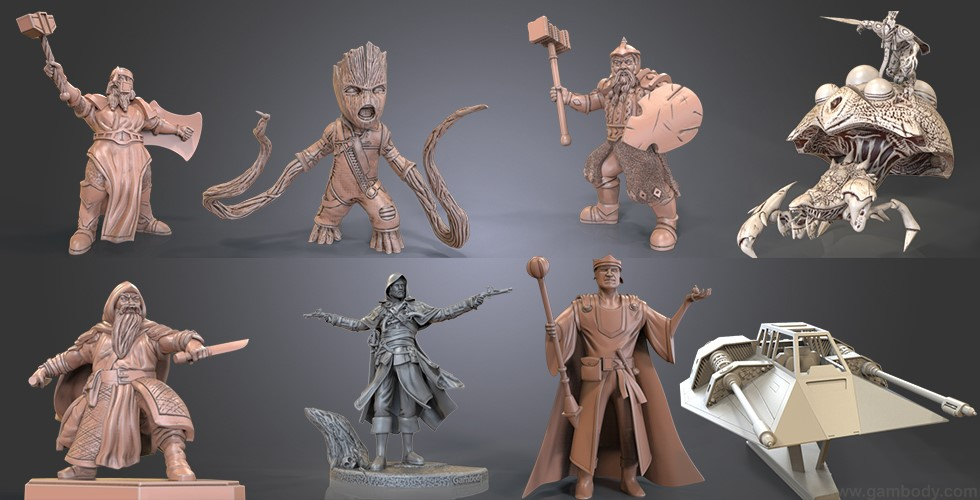 April Roundup: 3D Models of the Month