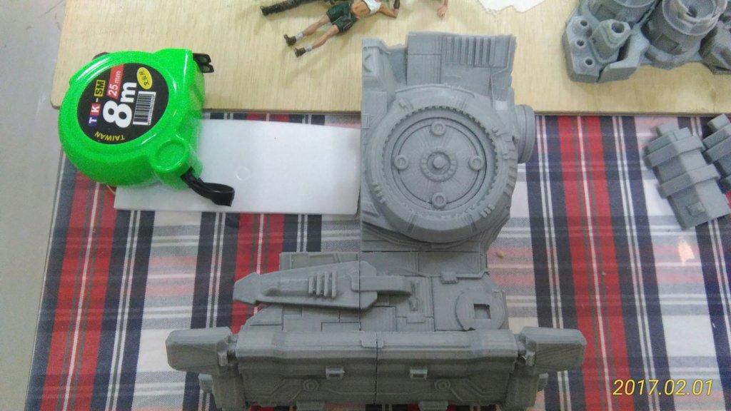 starcraft 3d printed battlecruiser
