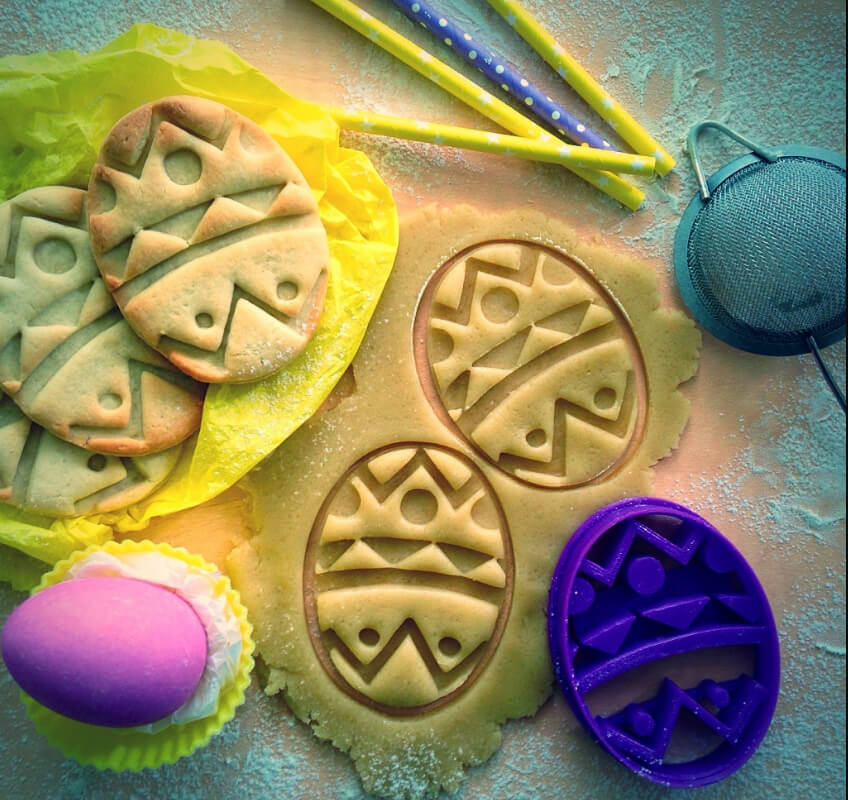 Easter 3D Prints cookie cutters