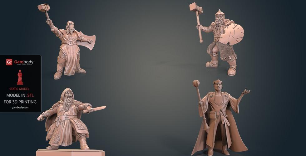 3d printing dwarfs