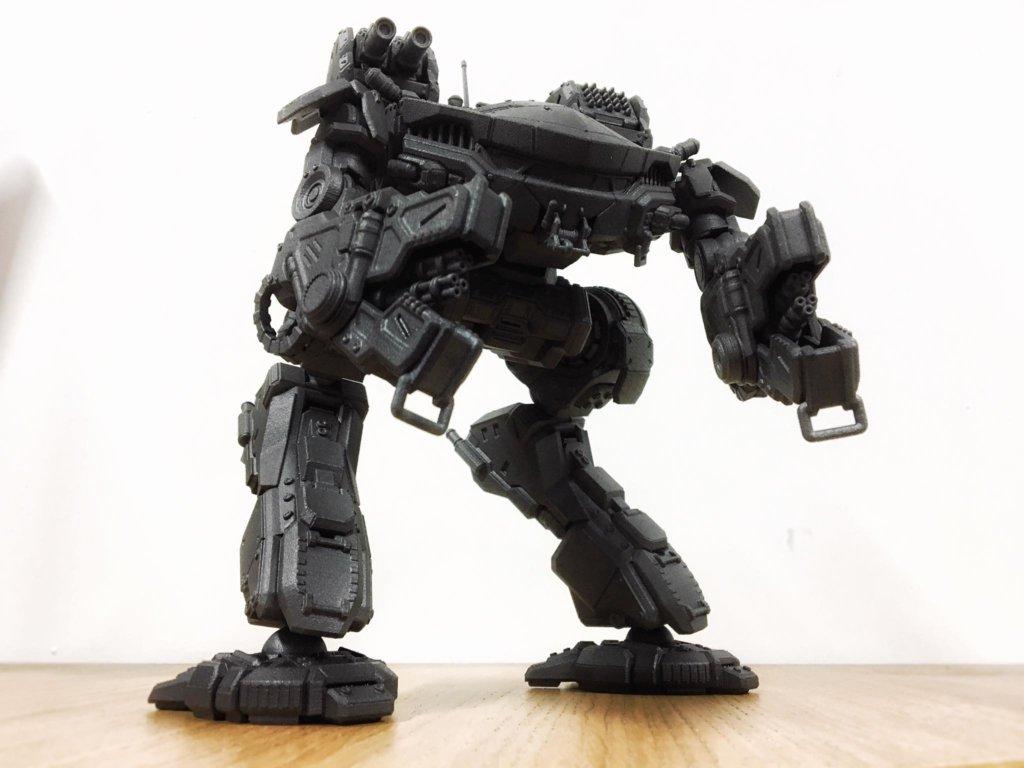 3D printed Mechwarrior