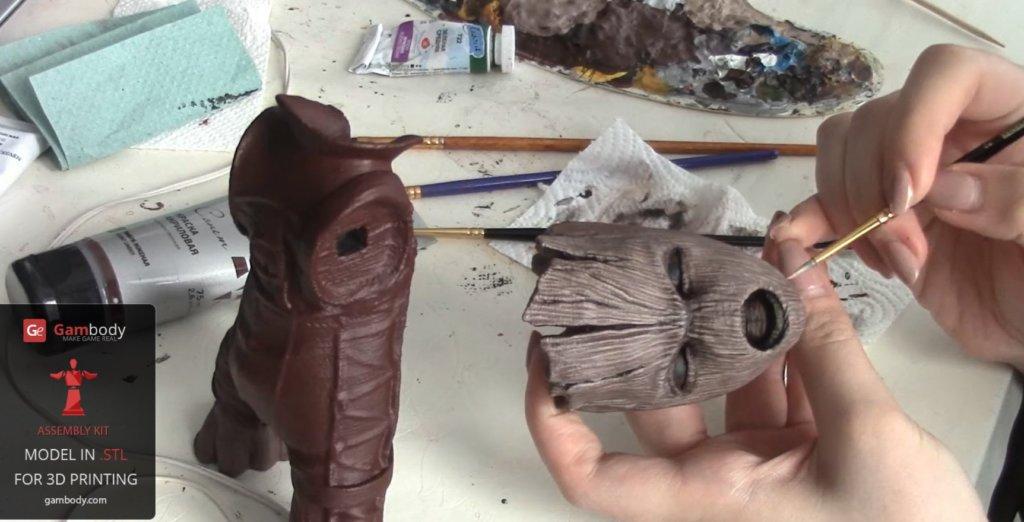 Baby Groot 3D print