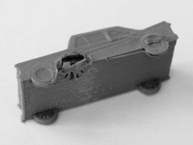 3D printer fail