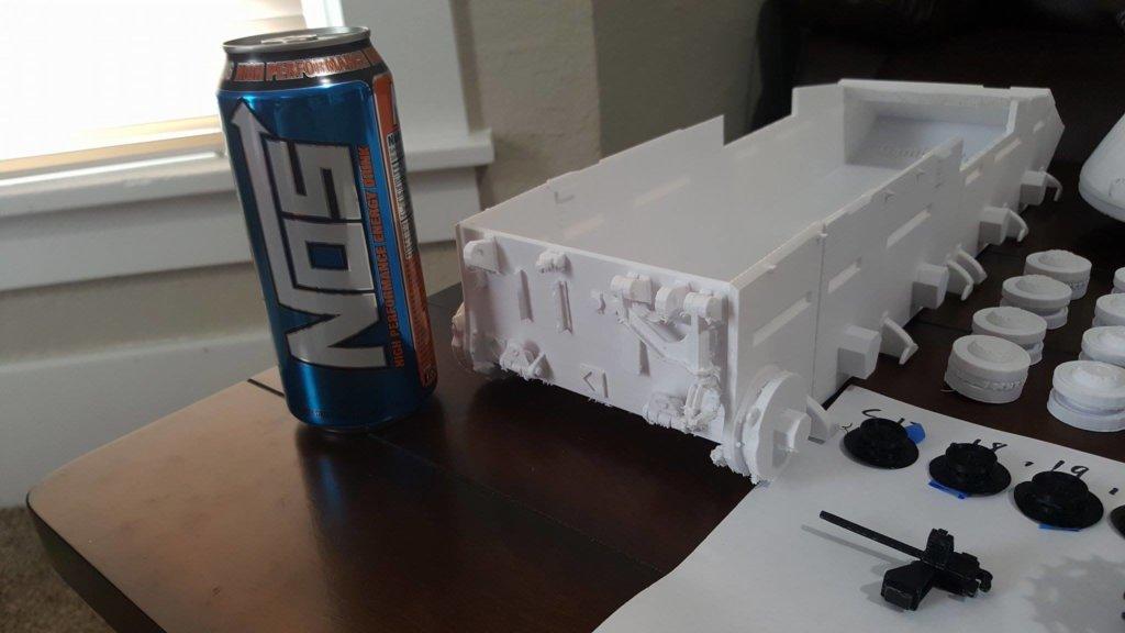 1/16 Scale GB Conqueror Tank 3D printed