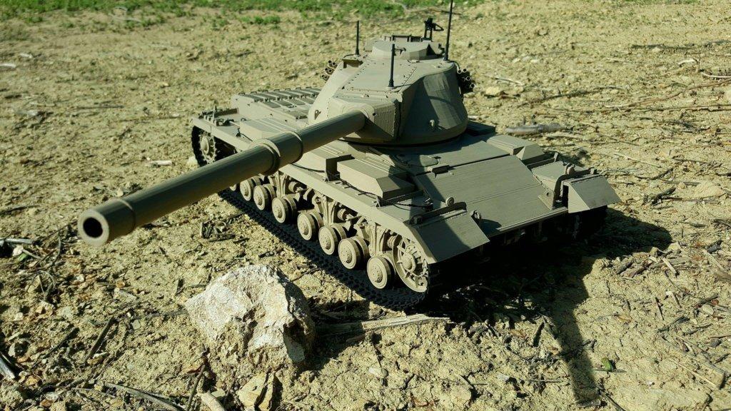1/16 scale GB Conqueror Tank 3D print