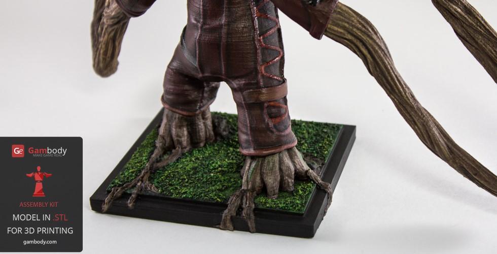 Baby Groot 3D model