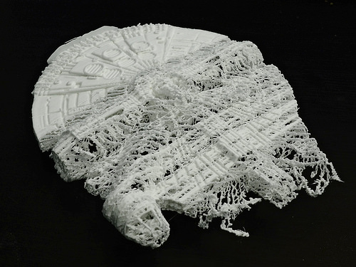 Star Wars 3D printing fail